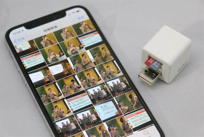 iPhone中存有大量照片/影片,讓你每次備份(換手機)都很困擾嗎?(圖/黃慧雯攝)