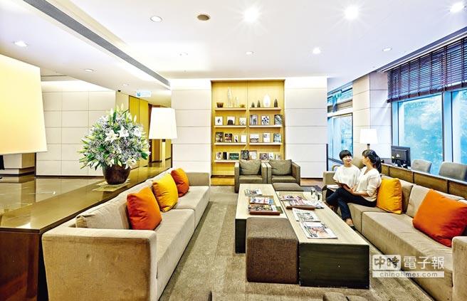 「西園永越健康管理中心」頂級設施、舒適的環境空間。圖/業者提供