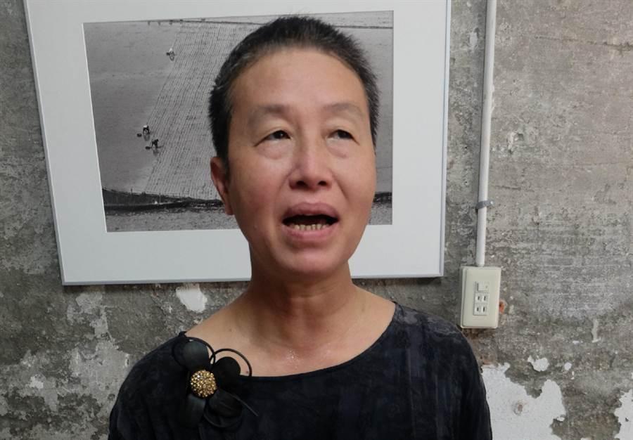 王麗萍控180億元六輕買命錢黑箱作業。(張朝欣攝)