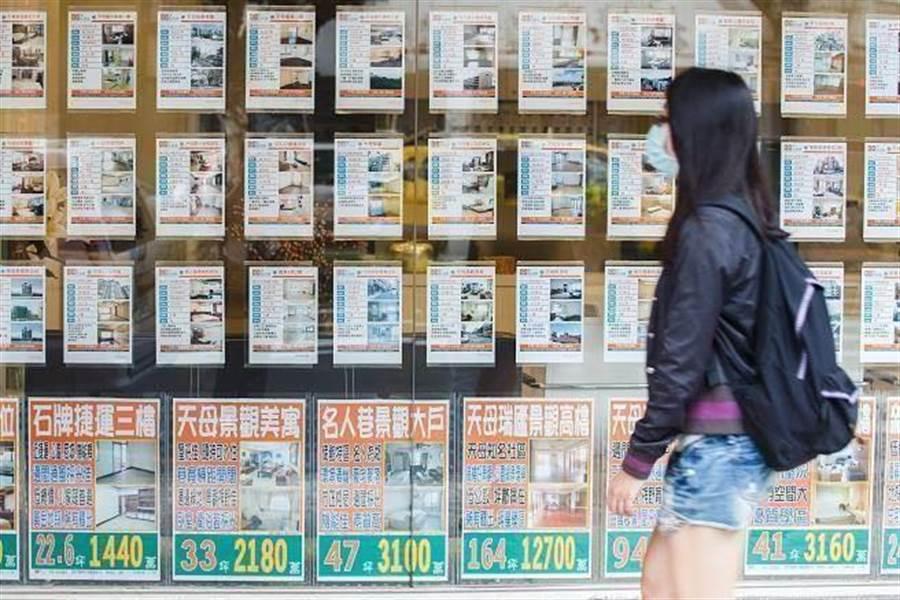 根據房仲統計最新數字,第二季的雙北行政區公寓、華廈以及大樓房價,以信義區的價差最大。(中時資料照)