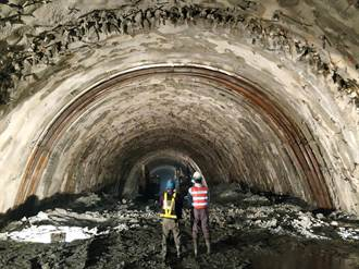 谷風隧道抽坍搶通 蘇花改通車期程不變