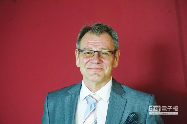 德國在台協會處長王子陶博士。圖/德國在台協會提供