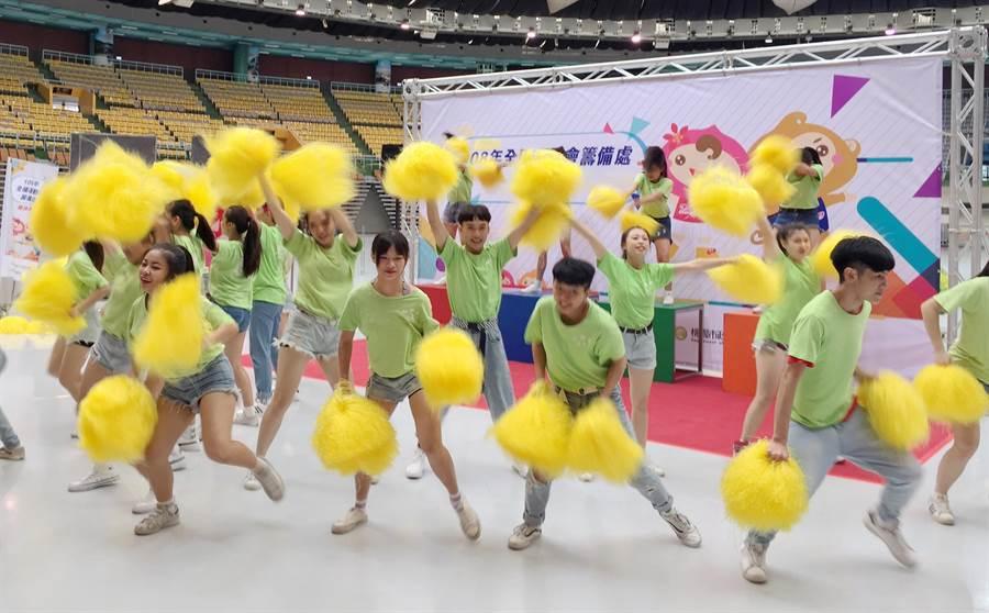 2019年全國運動會將在桃園舉行,並在3日完成籌備處揭牌儀式。(甘嘉雯攝)