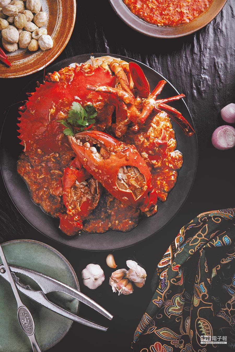 新光三越台中中港店新引進新加坡國寶級海鮮首選餐廳「珍寶海鮮」,加強食力和集客力。(新光三越提供)