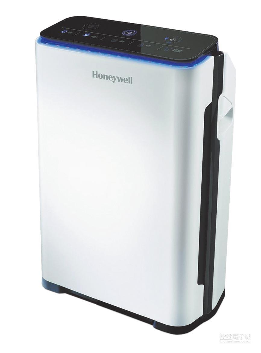 新光三越限量hengstyle Hoenywell智慧淨化抗敏空氣清淨機,原價1萬8900元、特價1萬7900元。(新光三越提供)