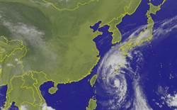 康芮今晚最近台 北部、東北部山區防豪大雨