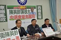 轟陳英鈐以裁判自居!藍黨團擬赴監察院、地檢署檢舉告發
