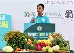 嘉義》發表農業新政 翁章梁:農業可以很不一樣