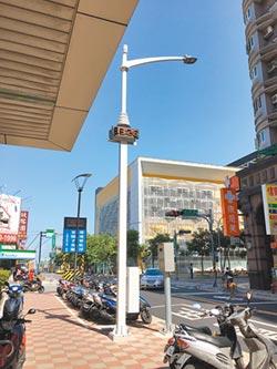 泰山街頭有亮點 路燈變聰明了