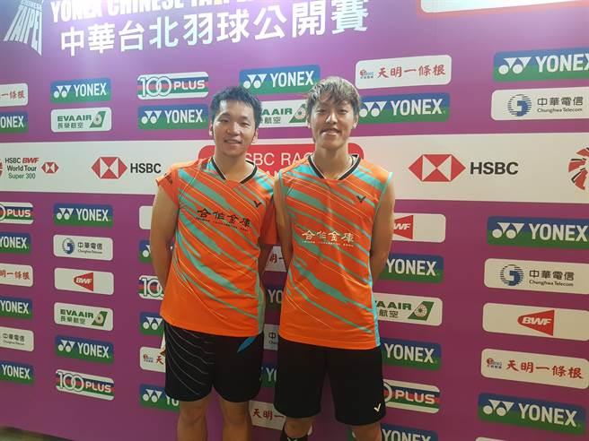 李洋(左)離開合庫羽球隊、轉戰土銀,李哲輝(右)未來要和楊博軒搭配男雙。(資料照/陳筱琳攝)