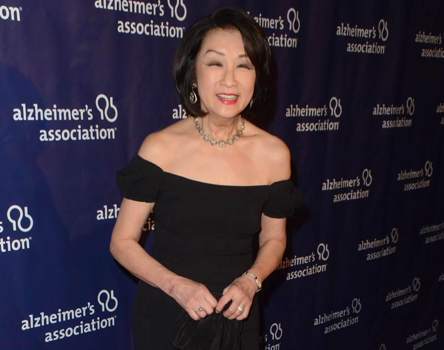 CBS晚間新聞前華裔主播宗毓華2016年3月出席阿茲海默症協會(Alzheimer's Association)活動的資料照。(達志影像/Shutterstock)