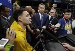 NBA》再次宣誓效忠 浪花弟:想在勇士待到退役