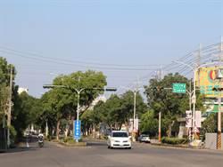 中正大學附近嘉106鄉道將移除快慢車分隔島 改置中央分隔島