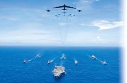 美軍密謀 11月在台海軍演