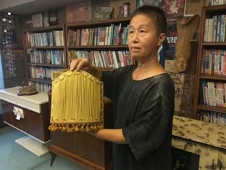 雲林》縣長參選人王麗萍 為籌競選經費賣骨董家具
