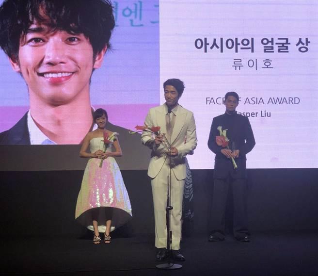 劉以豪榮獲「Face of Asia Award」大獎。(翻攝自kookie)