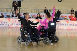 「北港媽祖盃輪椅舞蹈國際賽」14國選手同台競技