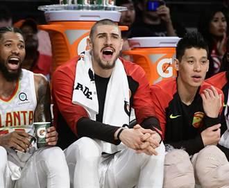 NBA》林書豪連2場熱身賽淪為替補 老鷹不敵灰熊