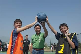 大甲幸福公園球場啟用 市議員舉辦球賽鼓勵運動