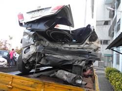 國道9車追撞6送醫 警方支援也遭殃