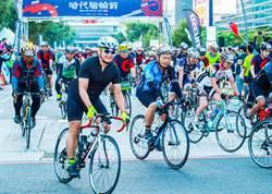 2018時代騎輪節 逾5000車友齊聚中市府熱鬧開騎