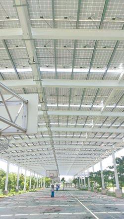 太阳能风雨球场 节能又环保