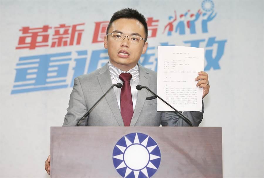 國民黨文傳會副主委洪孟楷。(圖/本報資料照,姚志平攝)