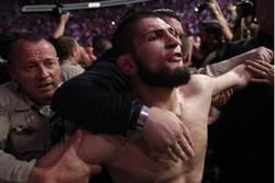 影》UFC爆發場外大混戰 拳王出面道歉