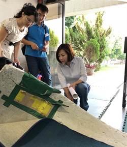 議員陳淑華爭取更新競技體操設備 讓孩子安全「翻滾」