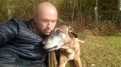 功成身退 英勇警犬在主人懷中離世