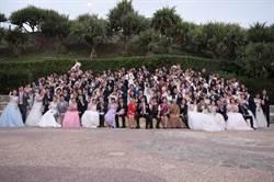 花蓮縣政府秋季集團結婚浪漫登場 代理縣長蔡碧仲為新人證婚祝福