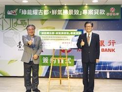 協助當地公司購置太陽光電設備 華銀支持綠能 南市推200億貸款
