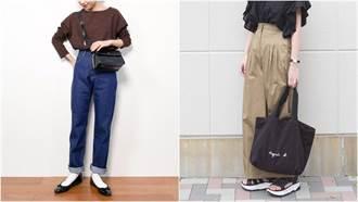 入秋後的衣著新嘗試!用高腰寬褲展現細腰+長腿的身形線條