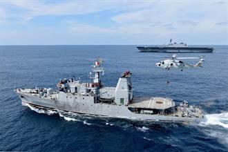 印太戰略抗中國 日加賀凖航母首赴印度洋聯合演訓