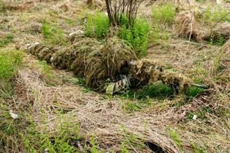 美國陸軍測試新式狙擊手偽裝服 透氣耐磨更安全