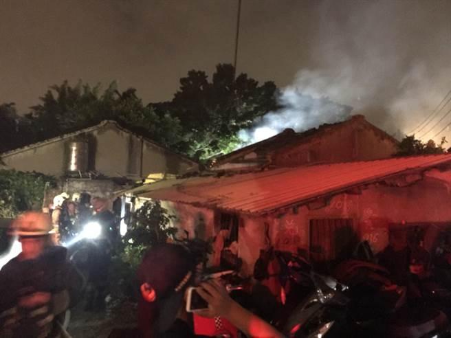 新莊區三合院8日凌晨發生火警,11歲陳姓男童經5天搶救,仍宣告死亡。(資料照,吳岳修翻攝)