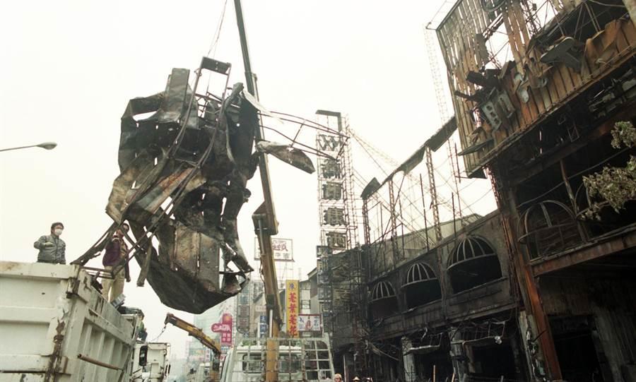 台中衛爾康西餐廳大火造成64死。(本報系資料照片)