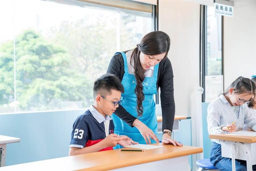 KUMON學習數學最大的特點,就是幫助孩子設立目標,並且不害怕數學。(圖/KUMON提供)
