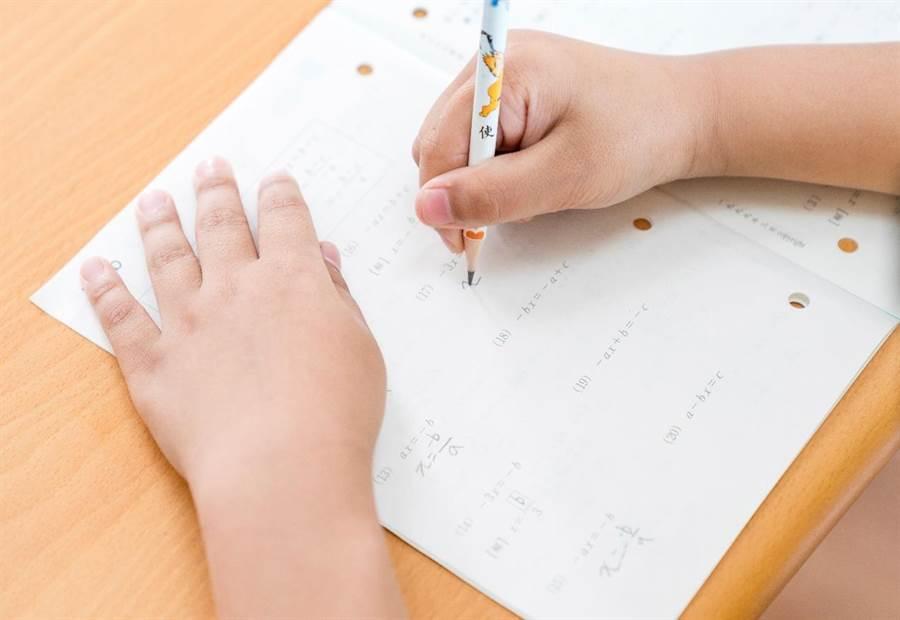 KUMON強調數學的學習是有次序的,如果在某個階段沒有學好的話,繼續往下學習就會感到很辛苦。(圖/KUMON提供)
