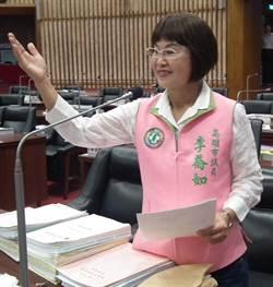 王淺秋隨韓訪美缺席議會 綠議員李喬如砲轟