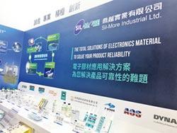 喬越電子膠材 產業創新最佳後盾