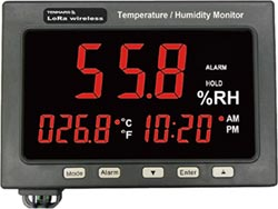世駿電子研發出LoRa系列溫溼度監測儀