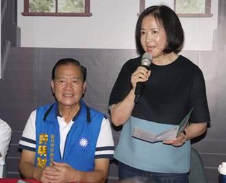 新竹》吳敦義夫人蔡令怡站台  許明財端國際觀光旅遊中心政策
