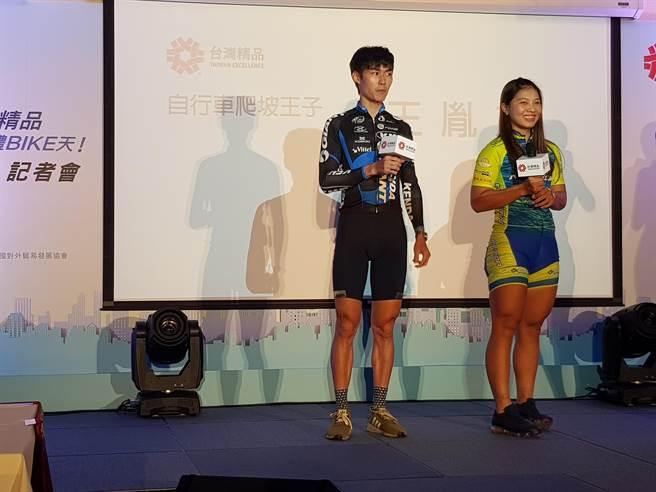 王胤之睽違4年再度參加台灣自由車登山王KOM挑戰賽,先求完賽。(陳筱琳攝)