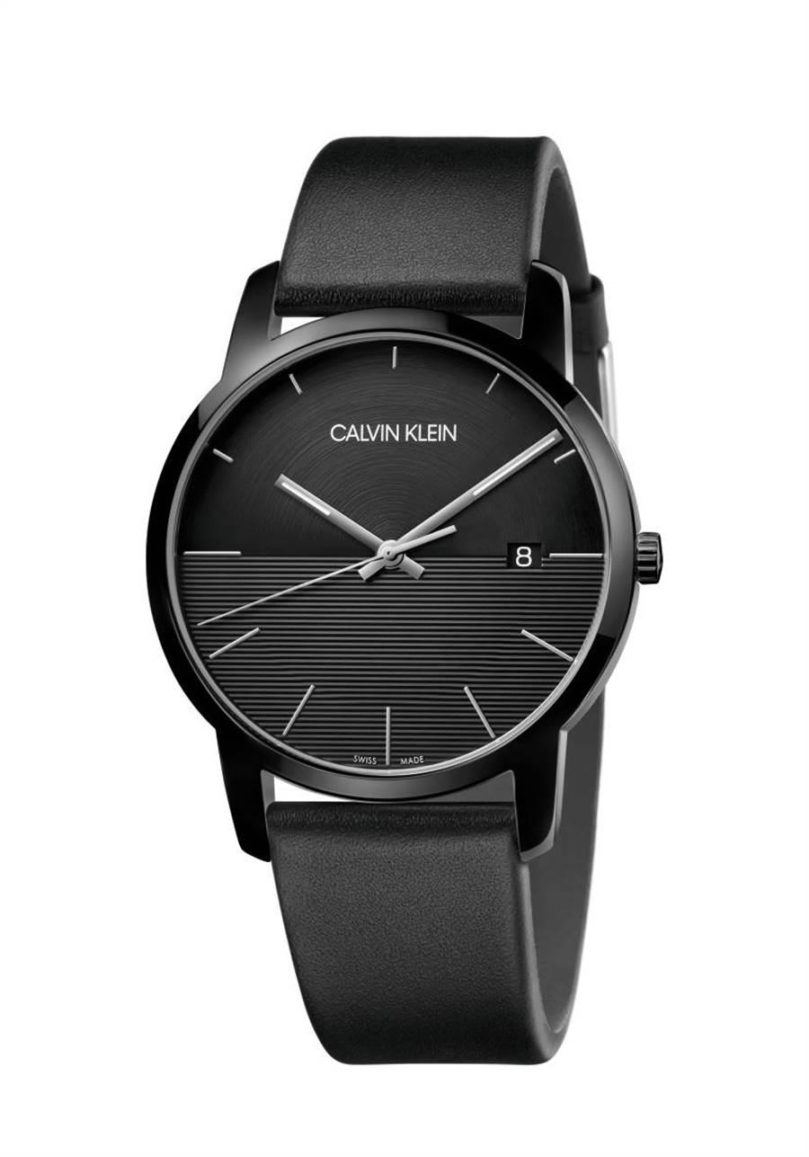 CALVIN KLEIN City Gent都會系列腕表,8900元。(CALVIN KLEIN提供)