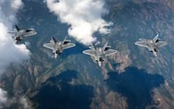 情勢緊張!美F22 F35 F16 F18備戰力年內要超過80%