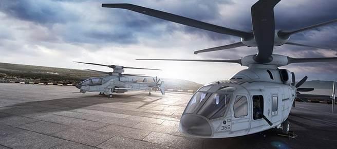 波音的SB>1與未來攻擊直升機的想像圖。(圖/defence-blog)