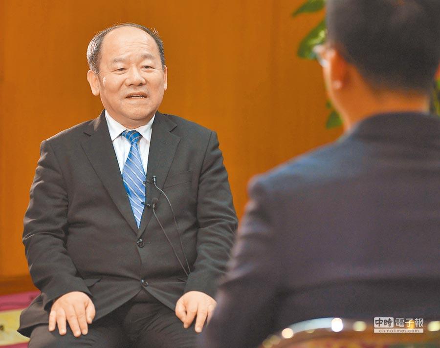大陸國家發展改革委副主任、國家統計局局長寧吉喆。(新華社資料照片)