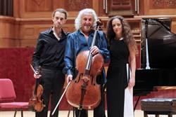 大提琴巨擘米夏麥斯基攜兒女共演三重奏
