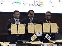 海事航運新南向!航港局偕國立臺灣海洋大學與印尼Sriwijaya大學簽署三方合作備忘錄